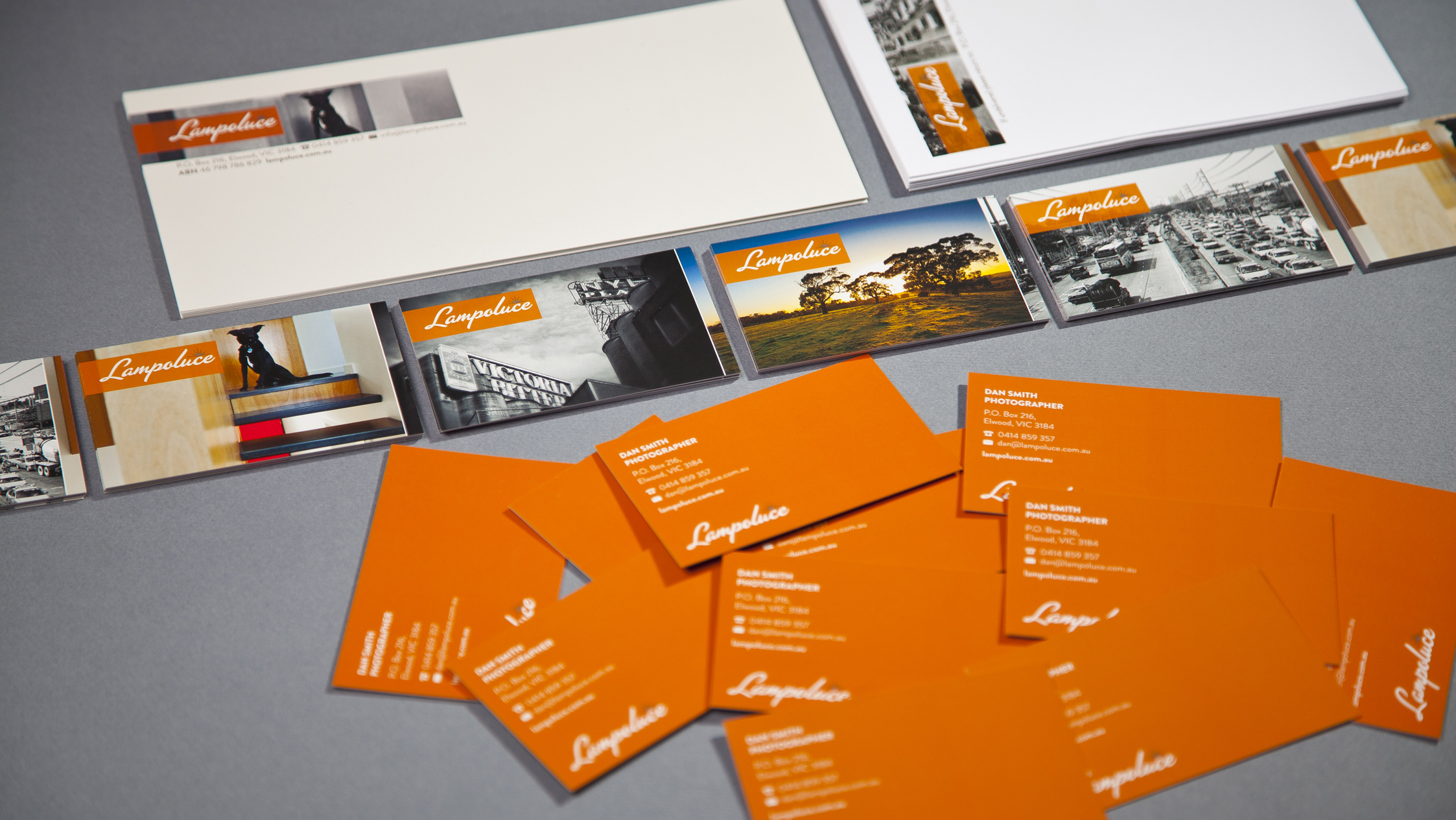 Lampoluce Stationery Suite