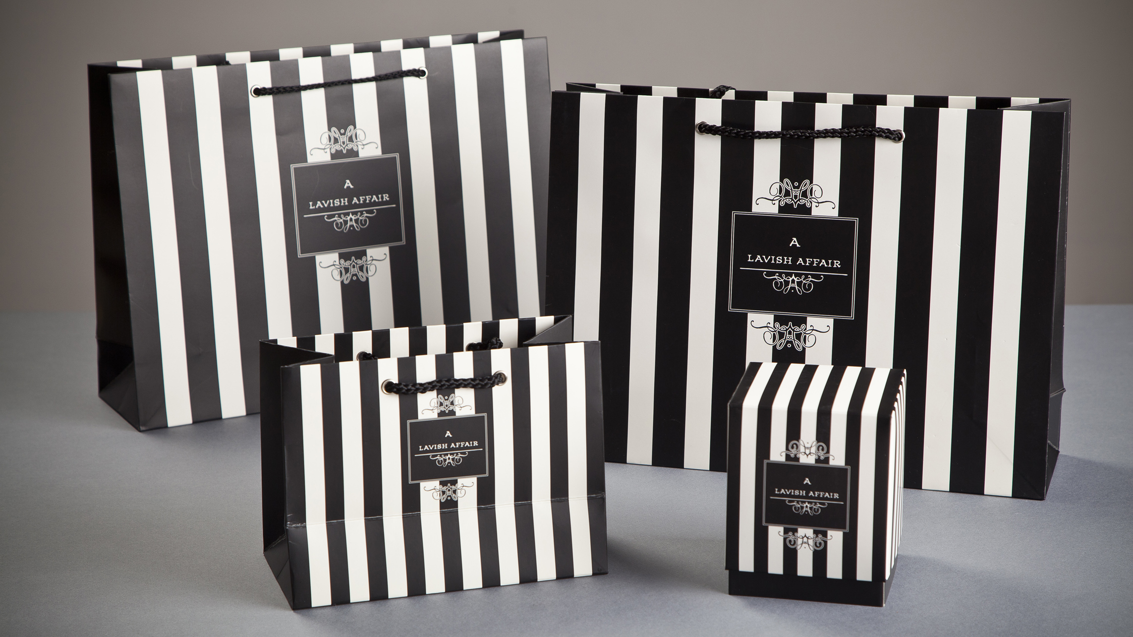 A Lavish Affair Shopping Bags