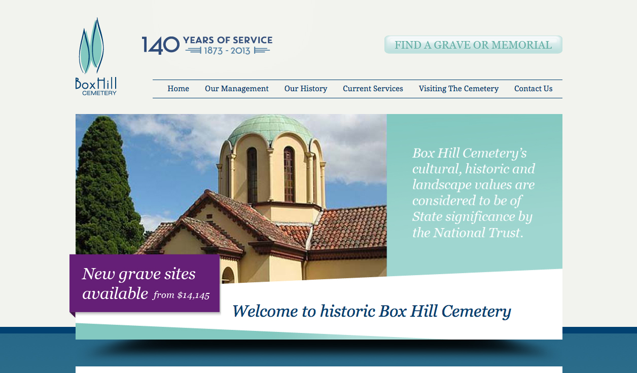 Box Hill Cemetery Website